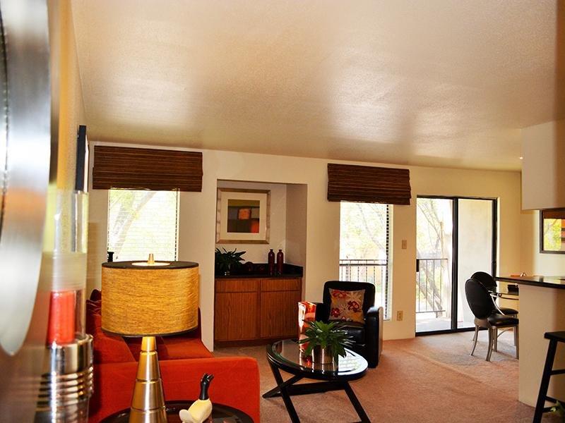 Living Room | Alvarado Apartments