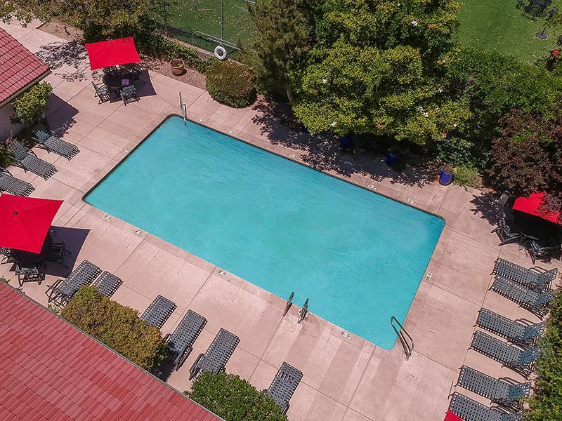 Arial View of Pool | Spain Gardens