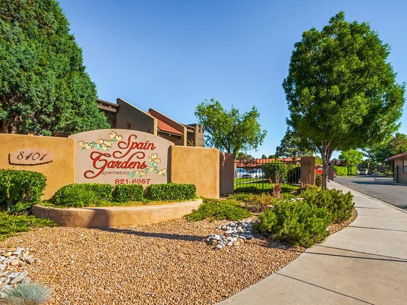 Spain Gardens Apartments Albuquerque Nm