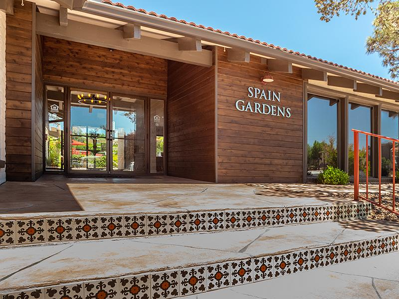 Clubhouse Exterior | Spain Gardens