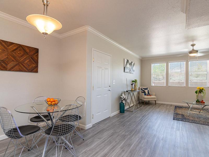 Living Room & Dining Area   Allegro at Tanoan in Albuquerque, NM
