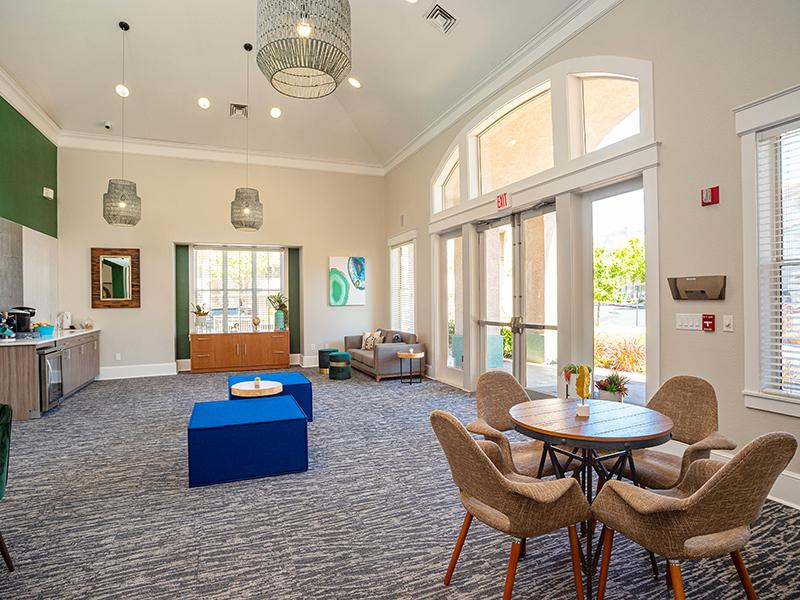 Clubhouse Lounge  | Allegro at Tanoan Apartments in Albuquerque NM