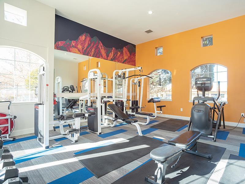 Community Fitness Center | The Enclave Apartments in Albuquerque NM