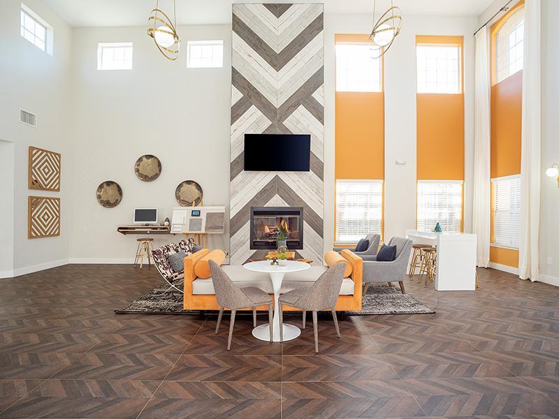 Community Clubhouse Interior | The Enclave Apartments in Albuquerque NM