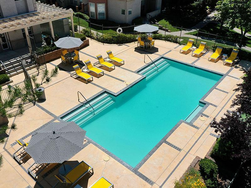 Pool | The Enclave Apartments in Albuquerque, NM