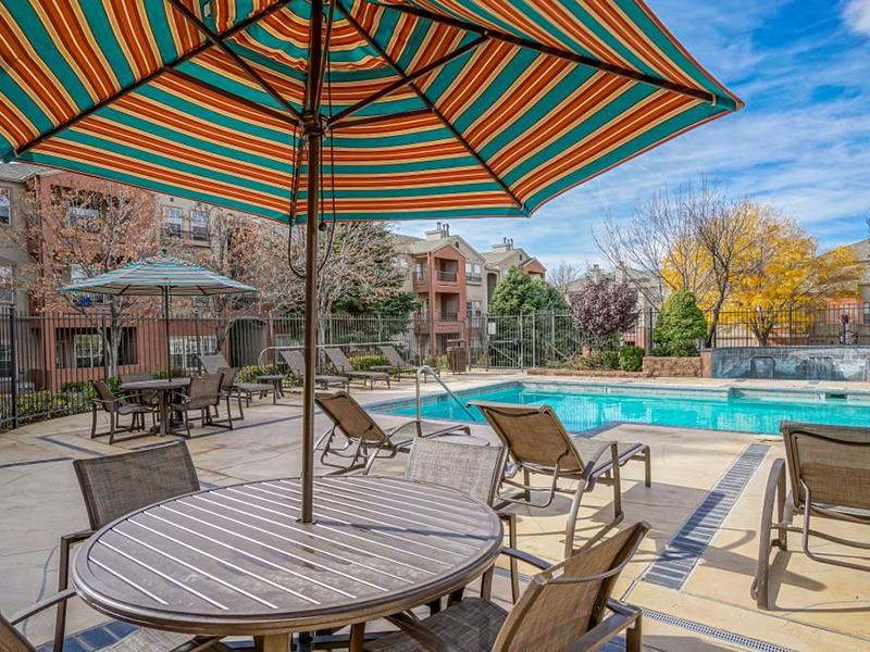 Pool Side Lounge | The Enclave Apartments