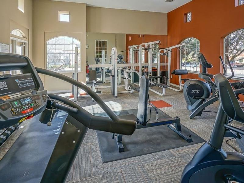 Fitness Center | The Enclave Apartments