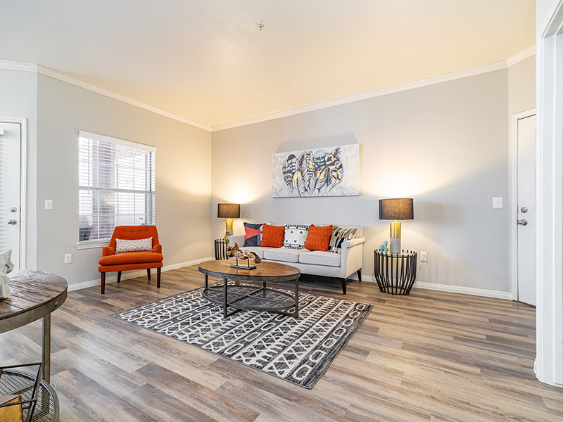 Front Room | The Enclave Apartments