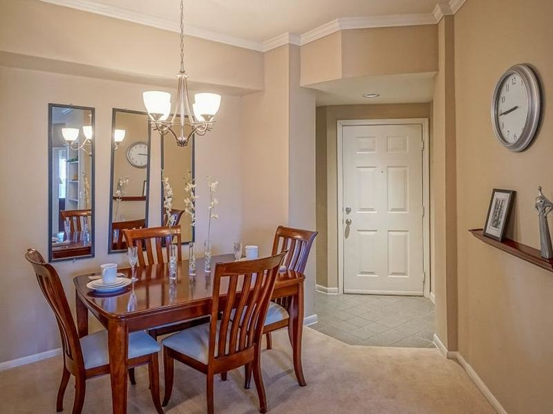 Dining Area | The Enclave Apartments