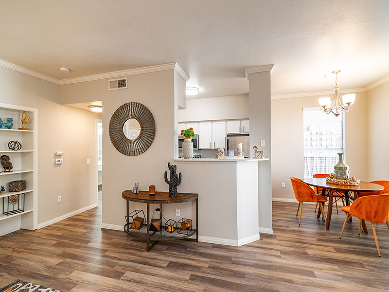 Wood Flooring | The Enclave Apartments