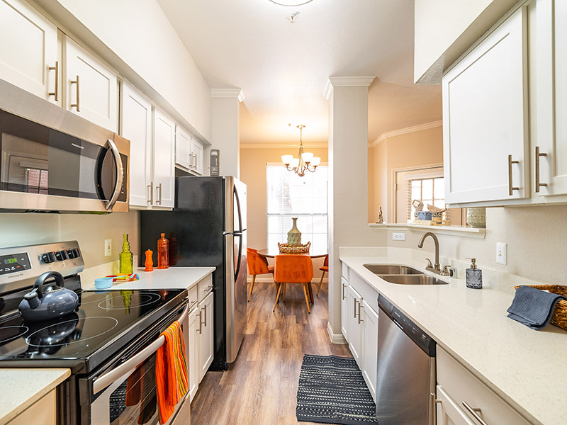 Fully Equipped Kitchen | The Enclave Apartments