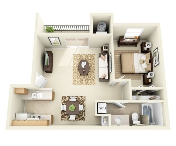 Floor Plans at Sombra Del Oso Apartments