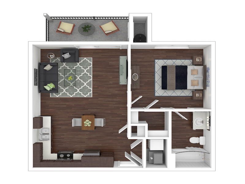 Floor Plans at Camino Real NM Apartments