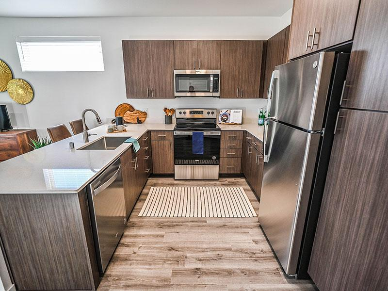 Fully Equipped Kitchen | Camino Real