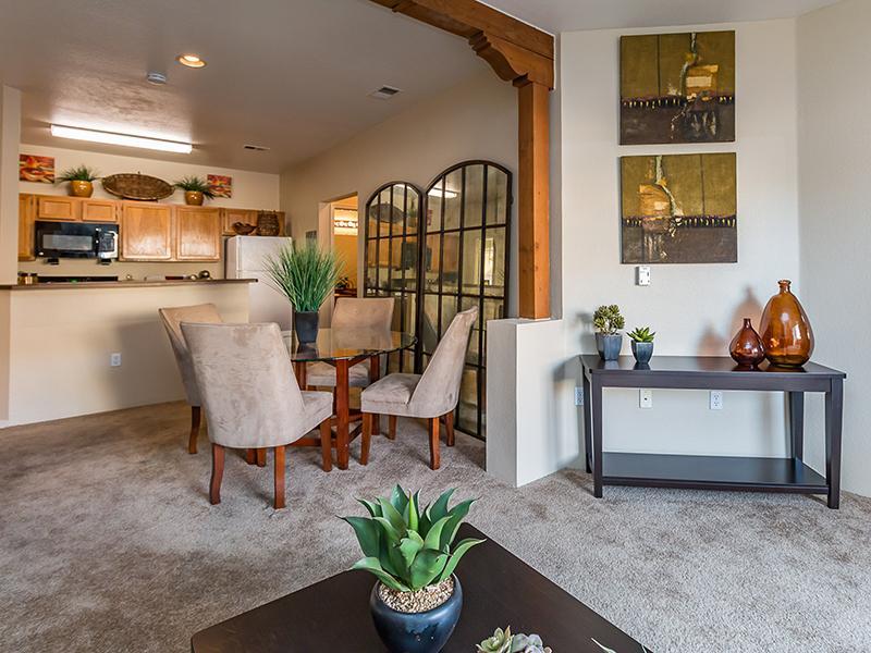 Living Room & Dining Area | San Miguel Del Bosque