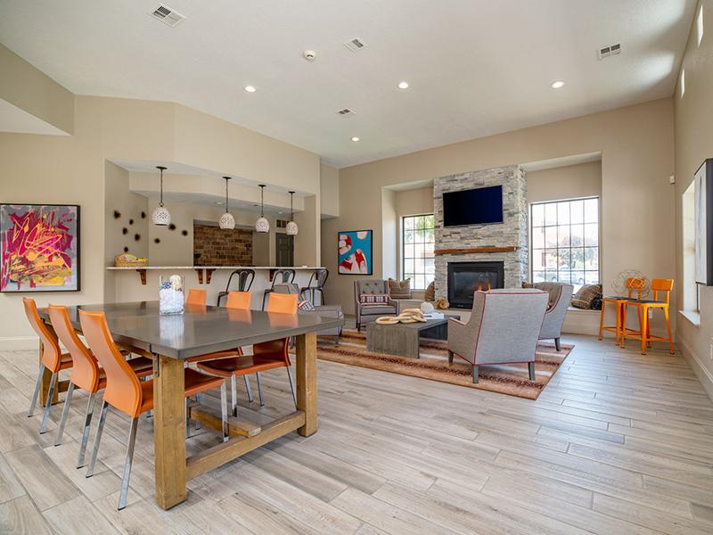 Clubhouse Lobby | San Miguel Del Bosque Apartments in Albuquerque, NM