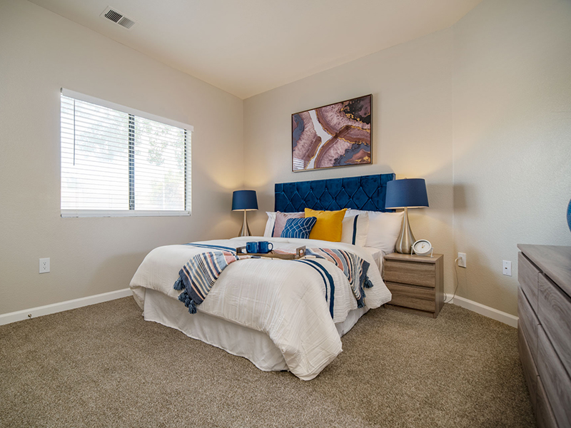 Bedroom | San Miguel Del Bosque Apartments in Albuquerque, NM