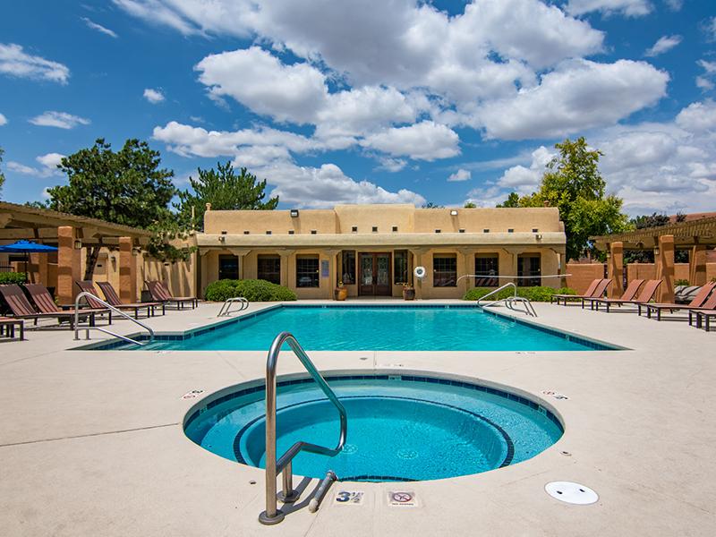 Hot Tub | San Miguel Del Bosque Apartments in Albuquerque, NM