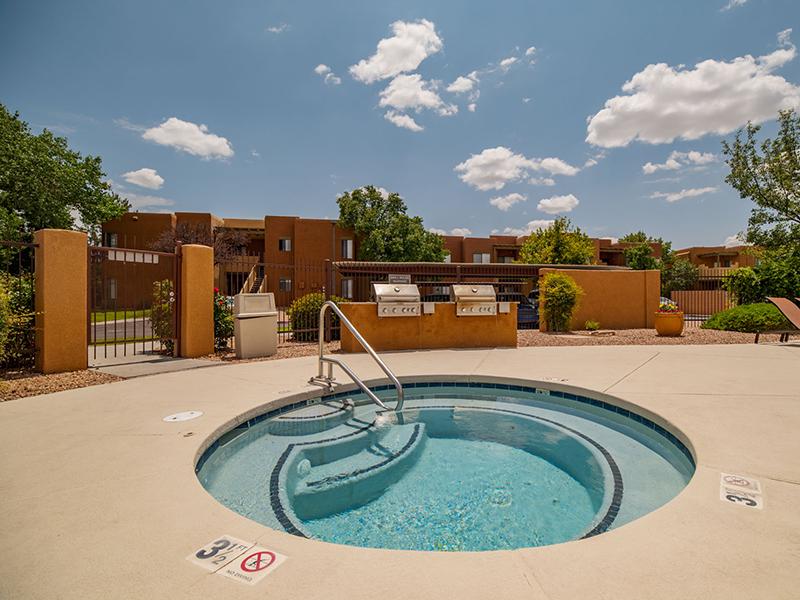 Relaxing Hot Tub | San Miguel Del Bosque Apartments in Albuquerque, NM