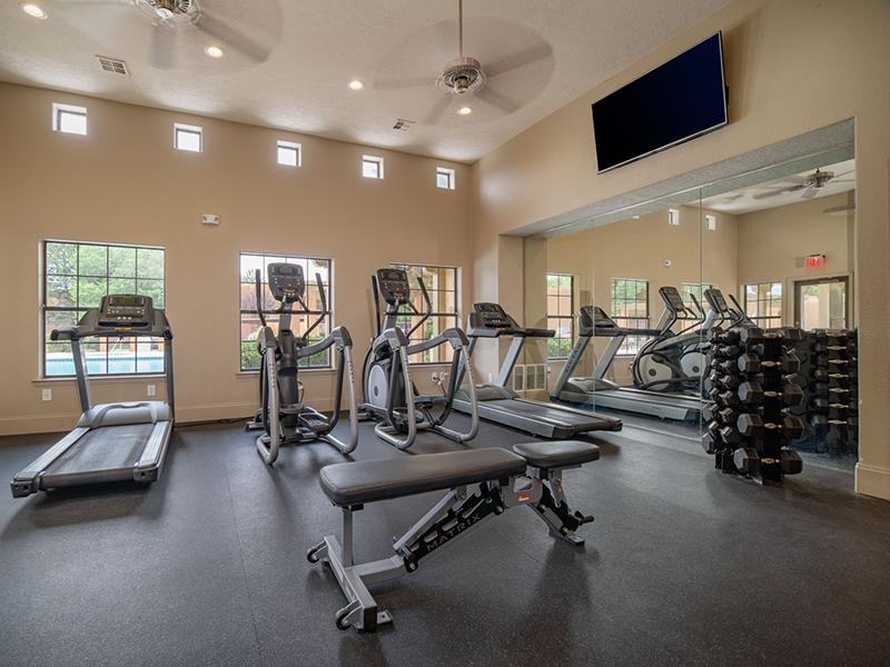 Gym | San Miguel Del Bosque Apartments in Albuquerque, NM