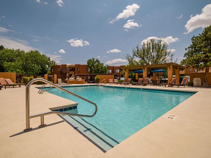 Beautiful Pool | San Miguel Del Bosque Apartments in Albuquerque, NM