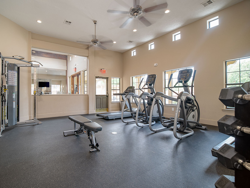 Fitness Center | San Miguel Del Bosque Apartments in Albuquerque, NM