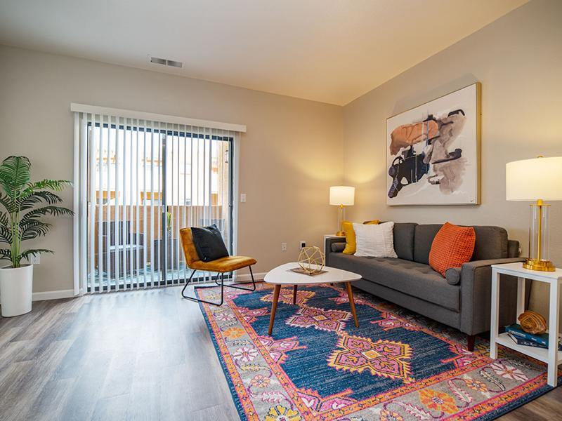 Living Room | San Miguel Del Bosque Apartments in Albuquerque, NM