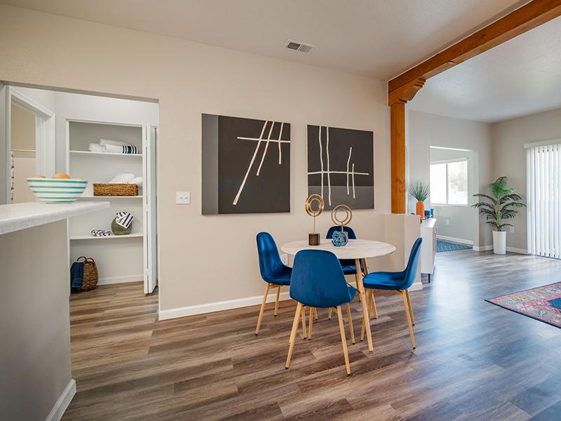 Dining Area | San Miguel Del Bosque Apartments in Albuquerque, NM
