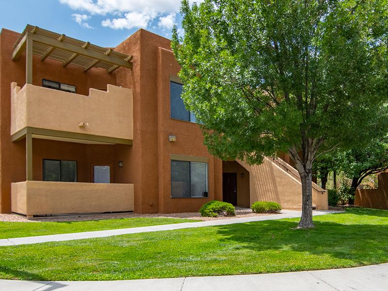Building Exterior | San Miguel Del Bosque Apartments in Albuquerque, NM