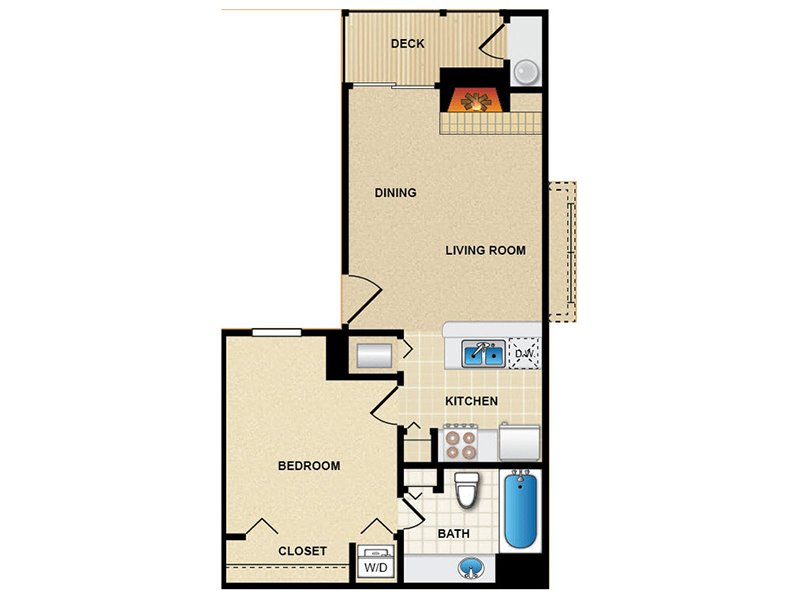 Floor Plans at Northpointe Village Apartments