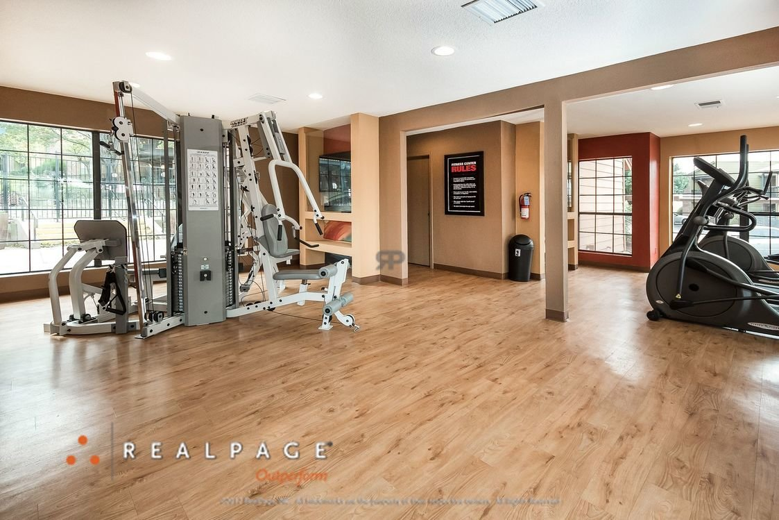Fitness Center | Northpointe Village Apartments