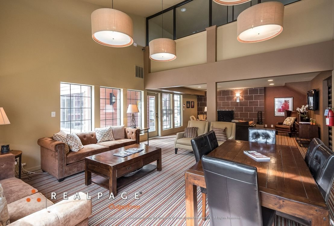 Clubhouse Interior | Northpointe Village Apartments