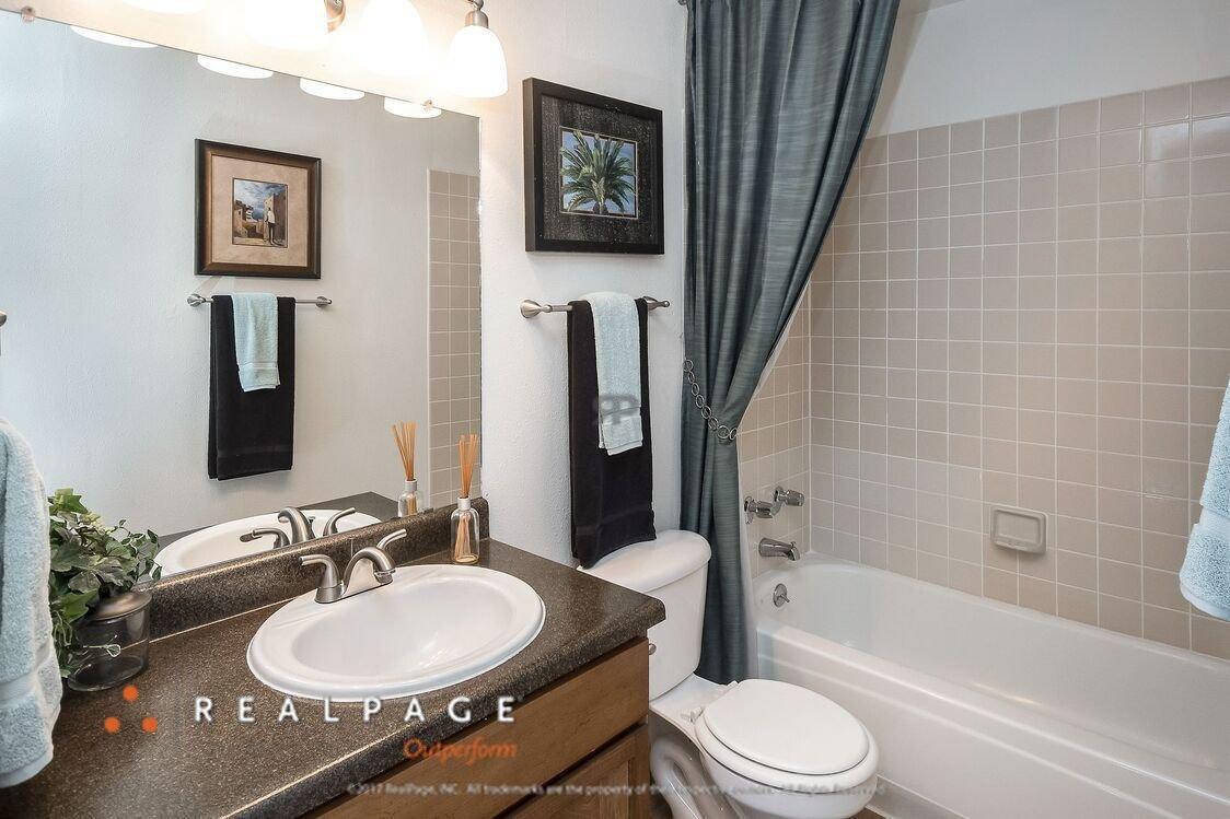 Bathroom | Northpointe Village Apartments