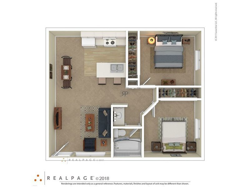 Floor Plans at Villa Serena Apartments