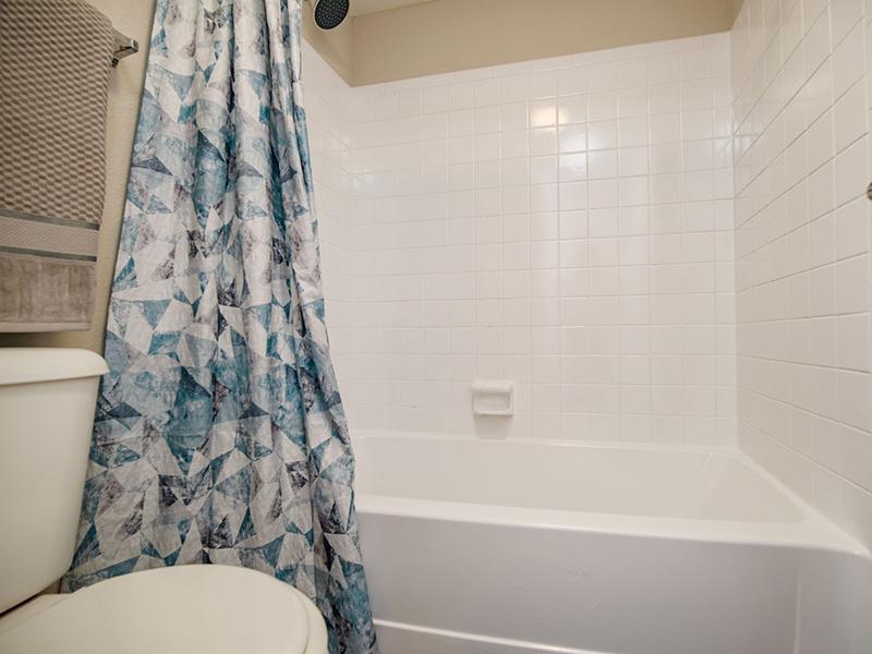 Bathroom | Villa Serena Apartments in Albuquerque, NM
