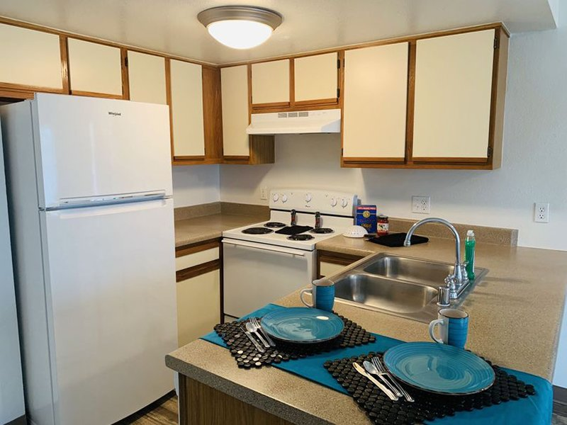 Fully Equipped Kitchen | Villa Serena Apartments