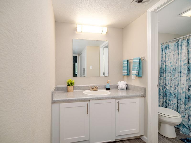 Bathroom Vanity | Villa Serena Apartments in Albuquerque, NM