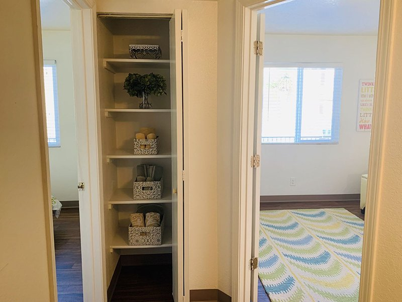Linen Closets | Villa Serena Apartments
