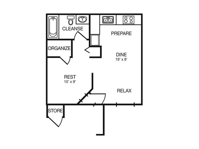 Floor Plans at Dorado Heights Apartments