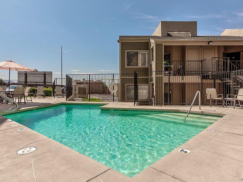 Pool   Dorado Heights Apartments in Albuquerque, NM
