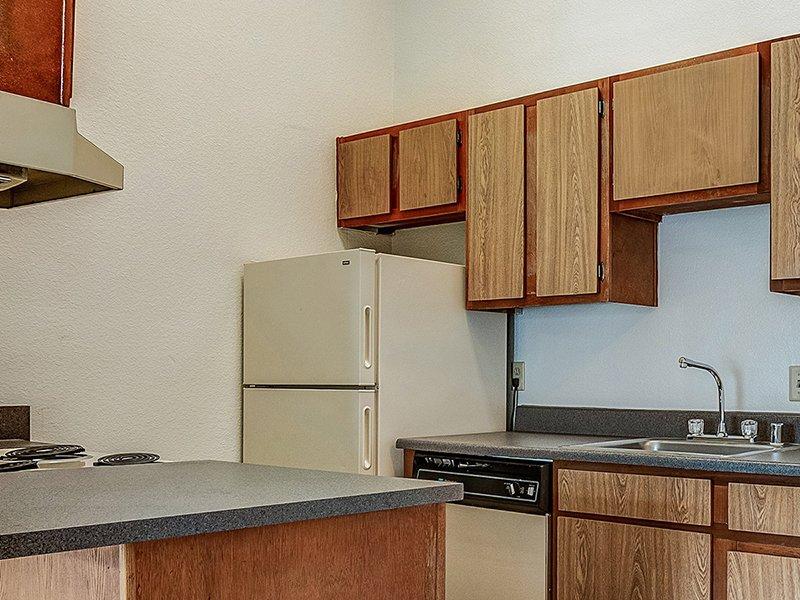 Kitchen   Dorado Heights Apartments in Albuquerque, NM