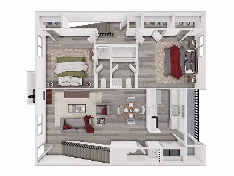 Floor Plans at Meadowlark Apartments