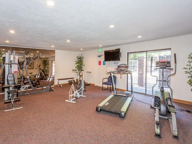 Gym   Meadowlark Apartments