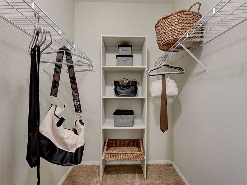 Closet Space | St Clair Apartments