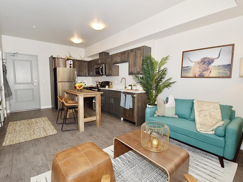 Spacious Living Room And Modern Kitchens | Coburn Crossing