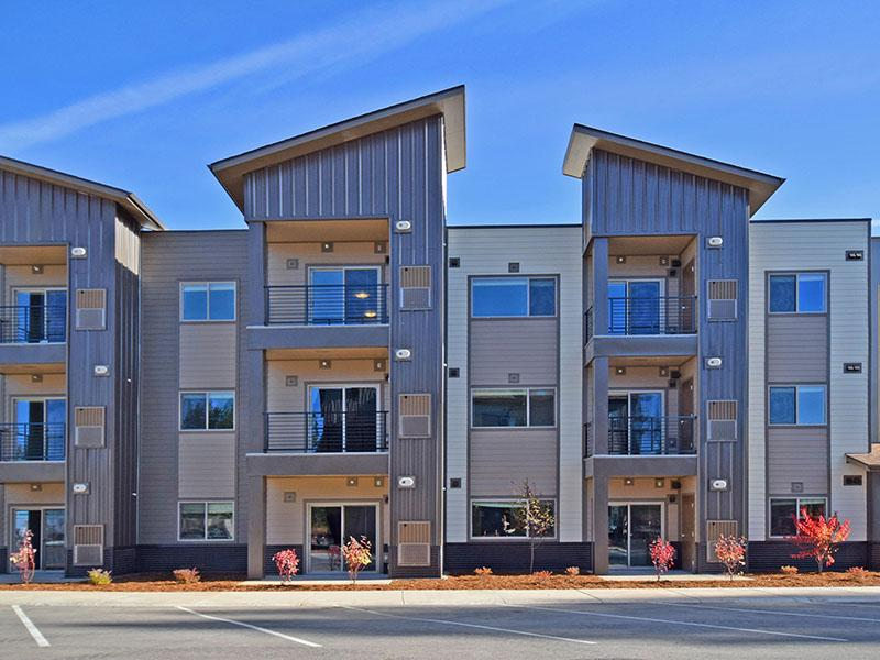 Building at Coburn Crossing Apartments in Truckee