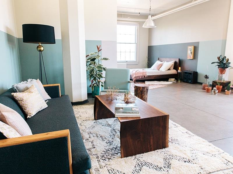 Living Room | Honeyman Hardware Lofts