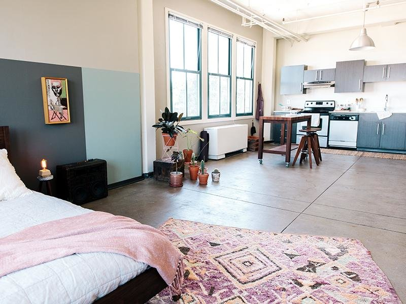 Studio Apartments | Honeyman Hardware Lofts