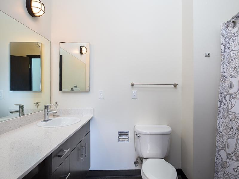 Bathroom - Studio Apartments