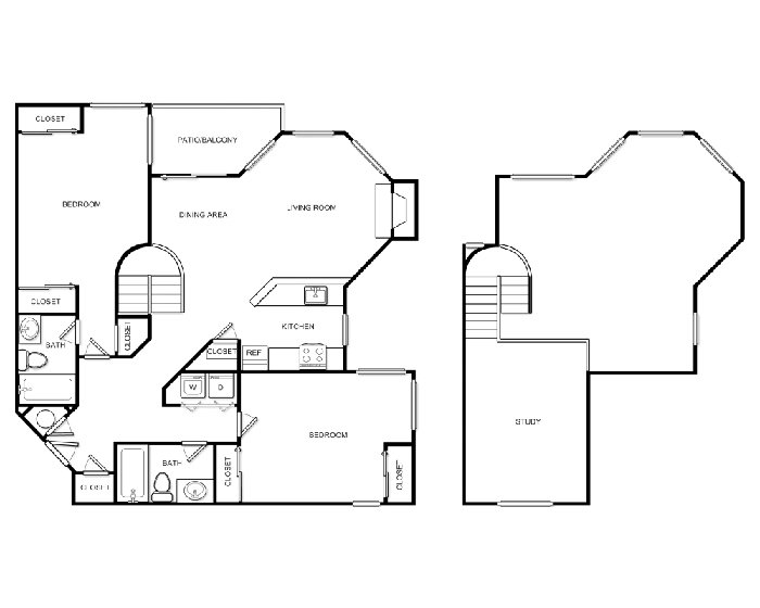Floor Plans at Andover Park Apartments
